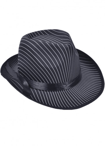 Gangster Hat (Striped)