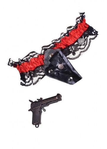 Garter With Gun