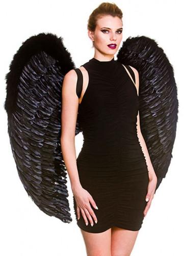 Angel Wings Black (Giant) 95cm x 95cm
