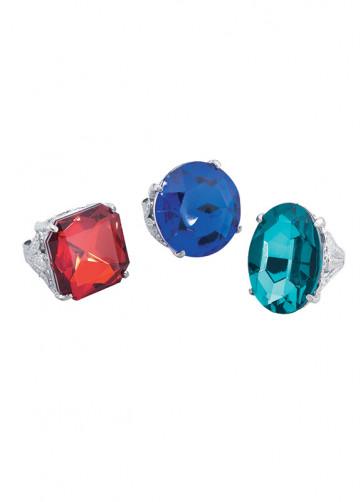 Giant Coloured Diamond Ring