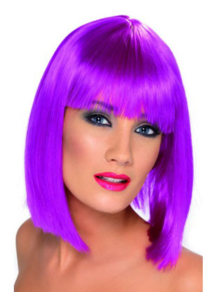 Glam Wig - Neon Purple