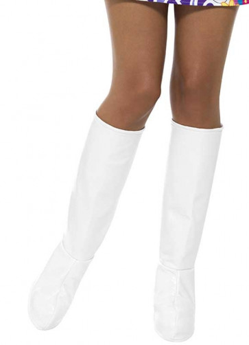 Go Go Boot Covers - White