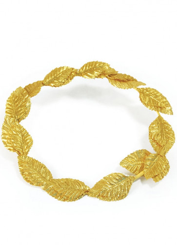 Roman Laurel Head Wreath (Gold)