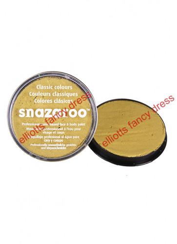 Snazaroo Gold Metallic Face Paint 18ml