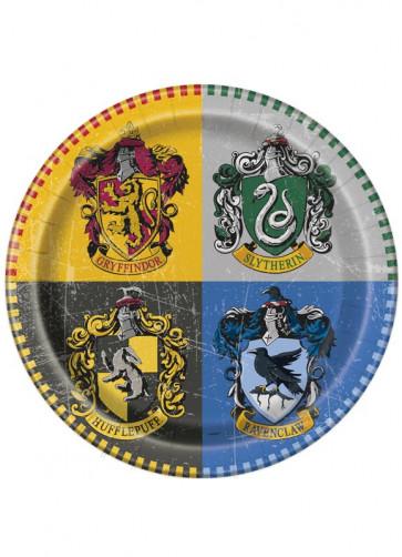 Harry Potter Hogwarts Paper Plates 22cm – 8pk