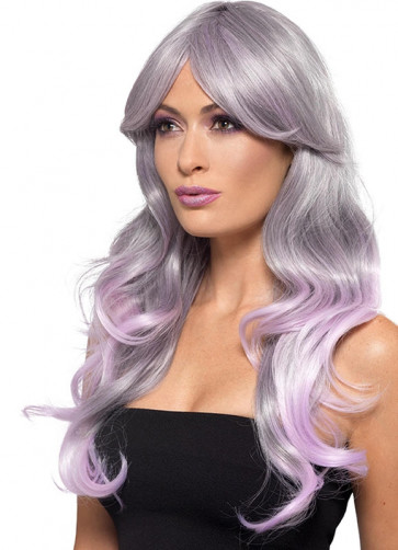 Fashion Ombre Wig Lilac - Heat Resistant