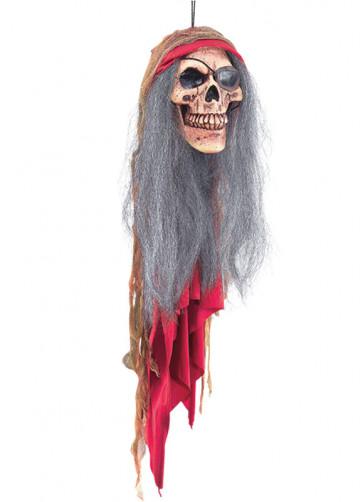 Pirate Skull Head Halloween Decoration