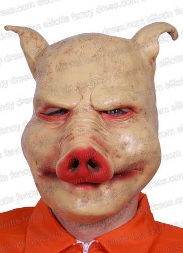 Horror-Pig Rubber Mask