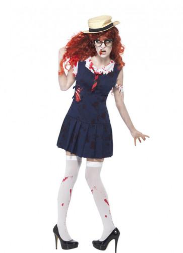 Zombie College Student (School Girl) Costume