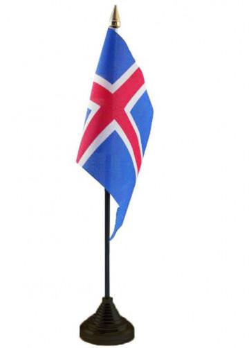 Iceland Table Flag