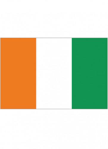 Ivory Coast (Cote d'Ivoire) Flag 5x3