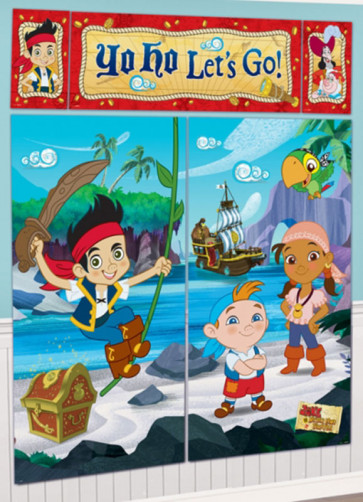 Jake and the Neverland Pirates Scene Setter