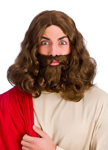 Jesus / Hippie Wig and Beard