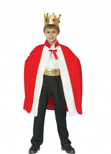 King's Robe (Boys) Costume