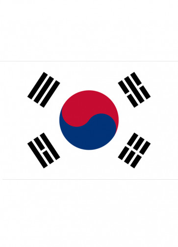 Korea (South) Flag 5x3