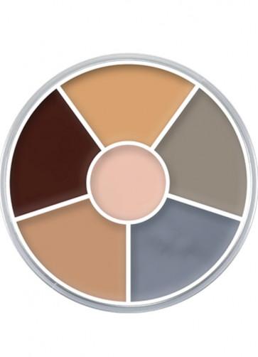 Kryolan Supracolor Cream Make-Up Circle - Corpse