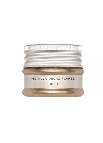 Kryolan Metallic Micro Flakes - Gold (Plastic Free)
