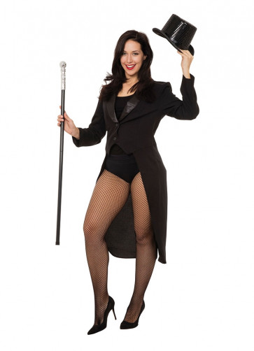 Black Tailcoat (Ladies) Costume