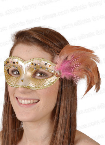 Laura Light Pink Eye Mask