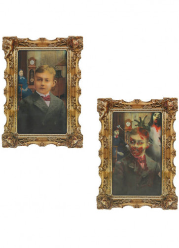 Rotting Zombie Holographic Portrait