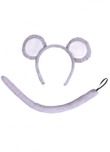 Little Mouse Kit – Grey Ears and Tail