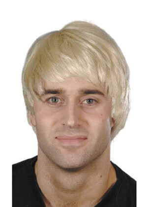 Male Character Blonde Wig