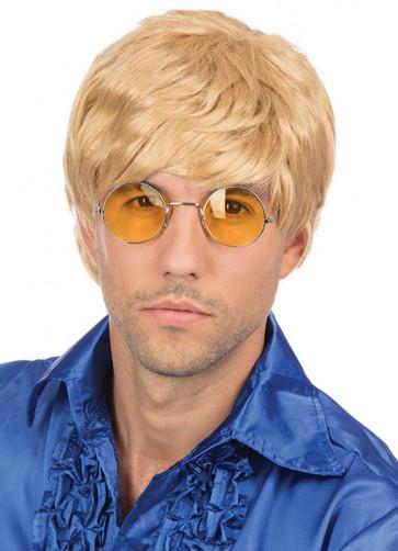 Short Blonde Mens Wig (Donald Trump)
