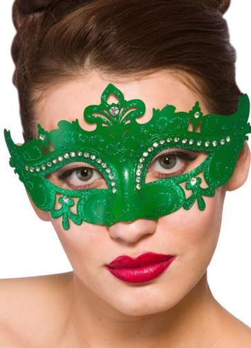Amelia Eye Mask (Green)