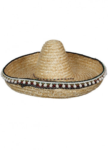 Mexican Sombrero with Tassels 46cm
