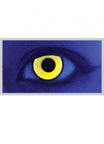 Mai Chick Yellow UV Contacts Lenses - One Day Wear