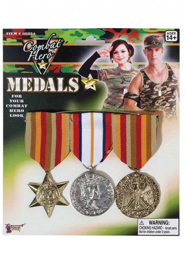 Military Hero Medals (Army)