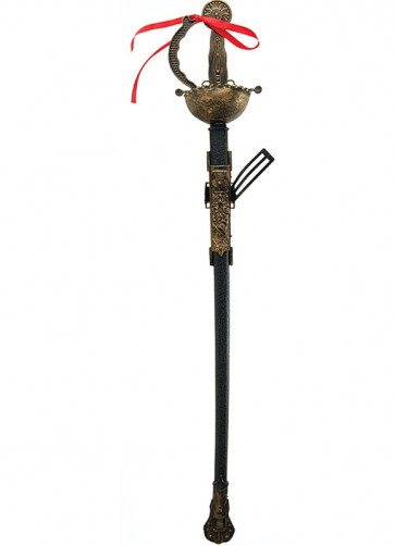 Gold Musketeer Fencing Sword - 73cm