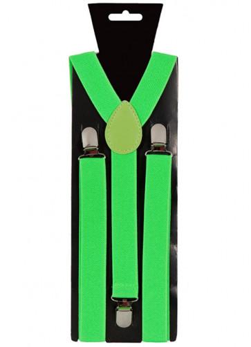 Neon Green Trouser Braces