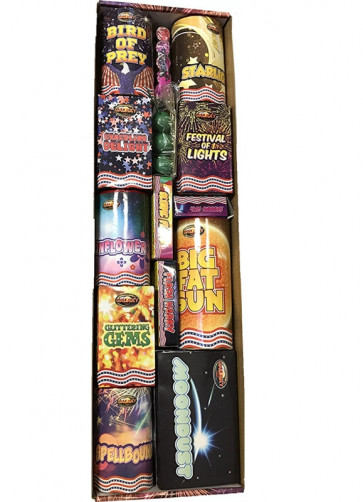 !Party Fireworks Selection Box - 48 Pieces - NO LICENSE REQUIRED - Available for CLICK & COLLECT only!
