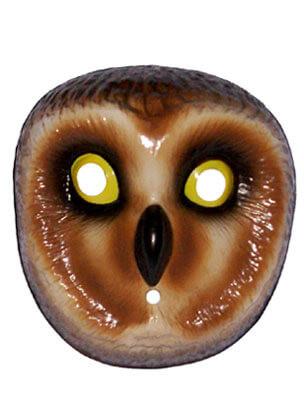 Owl Plastic Mask (Kids)