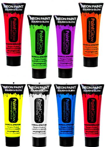 PaintGlow Neon UV Face Paint 10ml