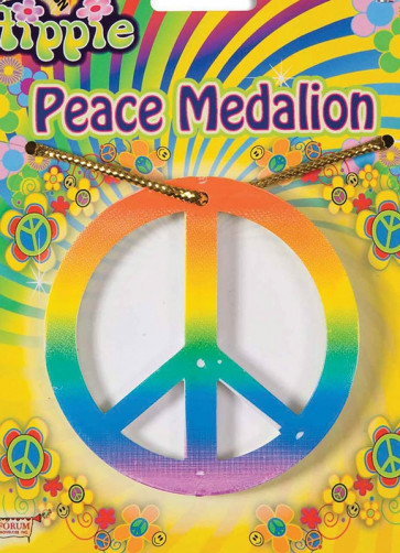 Peace Medallion Multi