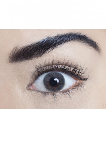 Pearl Grey Coloured Contact Lenses - One Day Wear