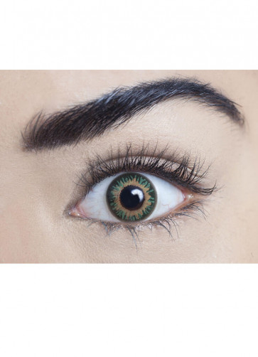 Persian Green Coloured Contact Lenses - One Day Wear