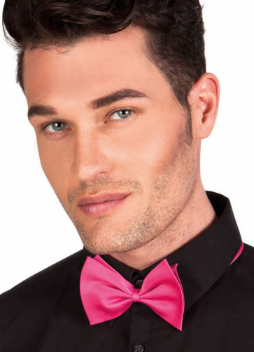 Hot Pink Bow-Tie