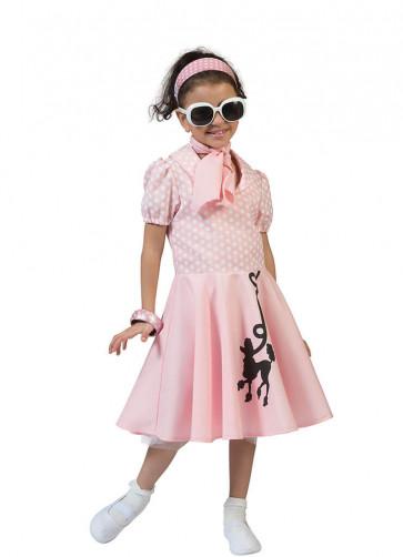 Pink Poodle Dress Costume