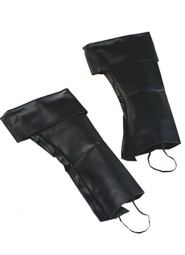 Pirate Boot Covers - Black