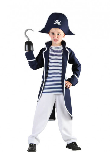 Pirate Captain (Boys) Costume