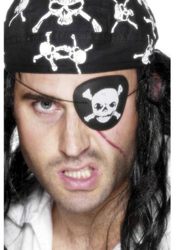 Pirate Eyepatch - Skull Print