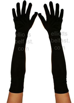 Gloves (Long Matt Black)