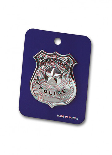 Special Police Metal Badge 6.5cm