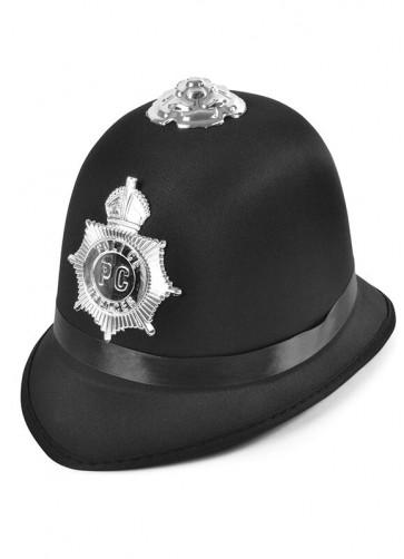 Police Bobby Hat - Satin