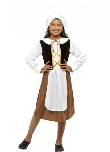 Poor Tudor Girl Costume