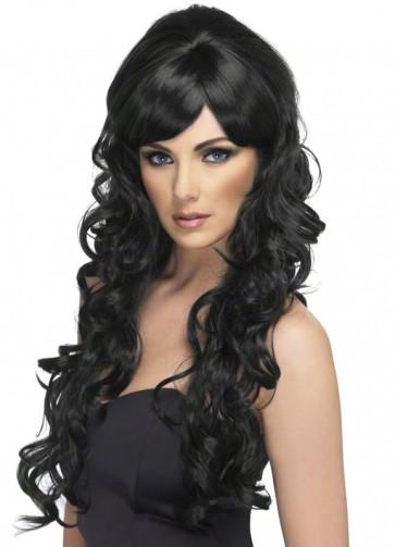 Pop Starlet Wig (Black)