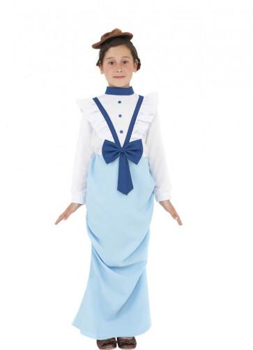 Posh Victorian Girl - First Class Titanic Passenger Costume